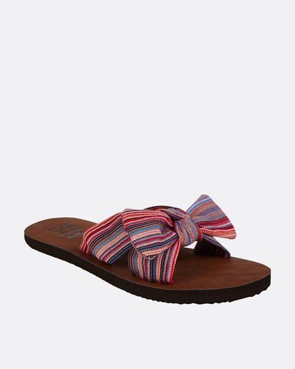 1 Tied Up Slide Sandal Blue JFOTPBTI Billabong