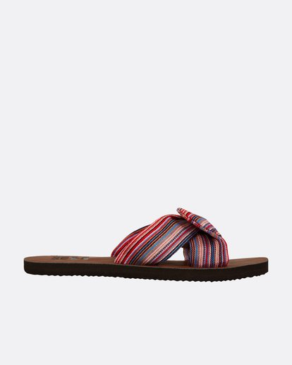 2 Tied Up Slide Sandal Blue JFOTPBTI Billabong