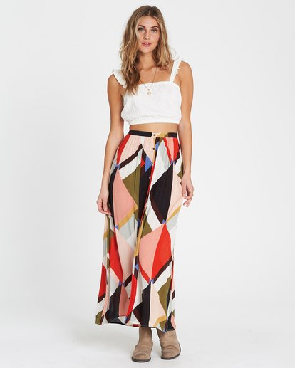 0 Honey Money Printed Maxi Skirt  JK01SBHO Billabong