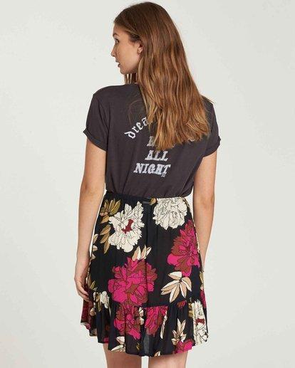 2 For The Ride Mini Skirt Black JK03QBFO Billabong