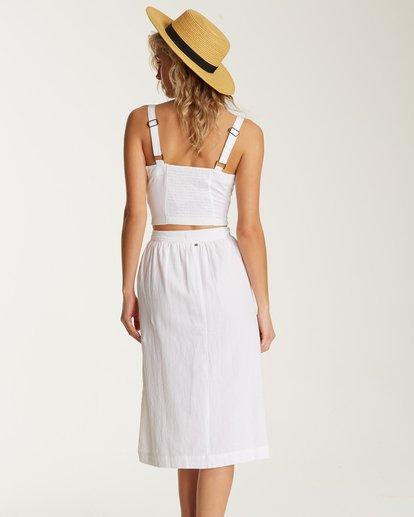 1 Alhambra Midi Skirt White JK20TBAL Billabong