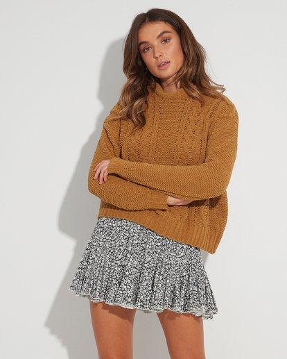 0 Meadow Floral Skirt Black JK22TBME Billabong