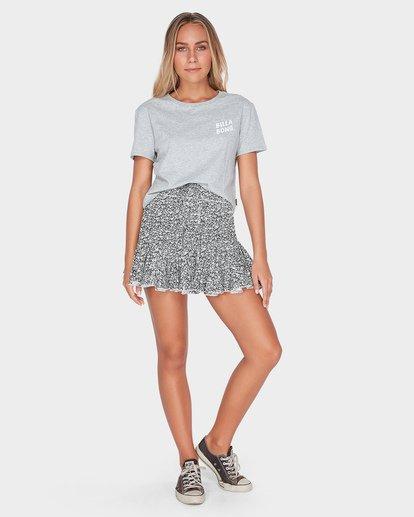 6 Meadow Floral Skirt Black JK22TBME Billabong