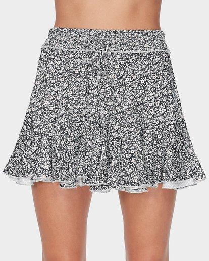 4 Meadow Floral Skirt Black JK22TBME Billabong