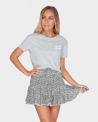 1 Meadow Floral Skirt Black JK22TBME Billabong