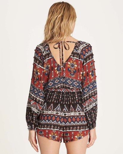 2 Isles Of The Heart Romper  JN02MISL Billabong