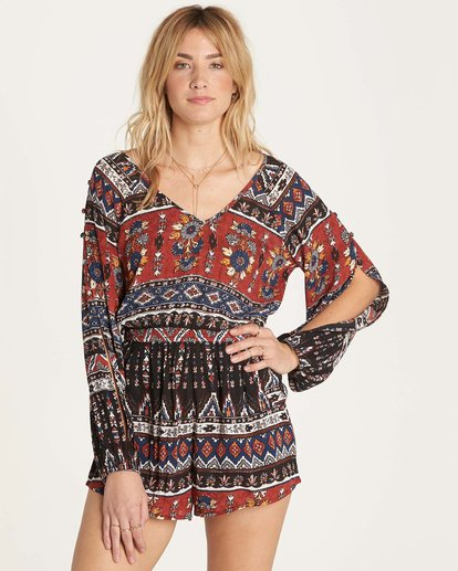 0 Isles Of The Heart Romper  JN02MISL Billabong
