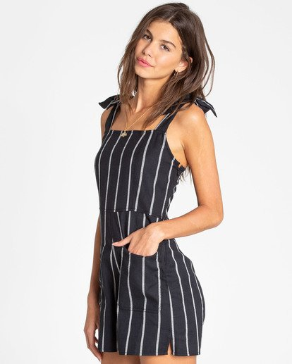 1 Jump Tide Sleeveless Romper Black JN02TBJU Billabong