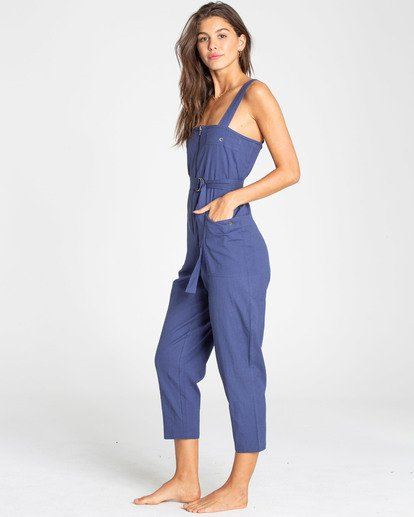 2 Light The Night Jumpsuit Blue JN03TBLI Billabong