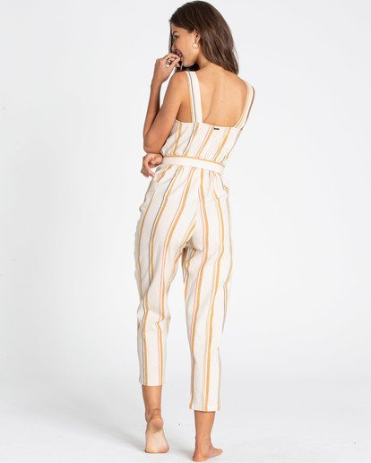 3 Light The Night Jumpsuit White JN03TBLI Billabong