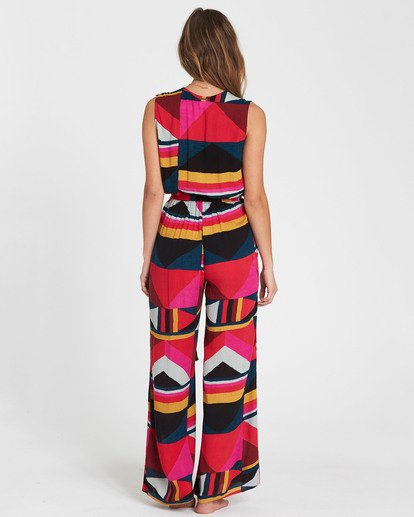 3 Seeing Tricks Printed Jumpsuit  JN04SBSE Billabong