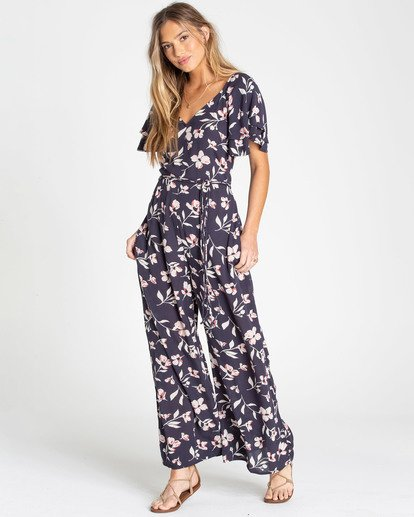 0 Fluttering Heart Jumpsuit Black JN15TBFL Billabong