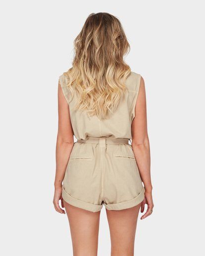 3 The Desert Romper Beige JN91SBDE Billabong