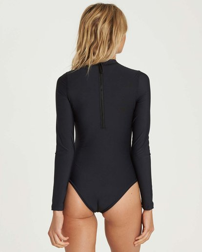 2 Mock Neck Bodysuit Rashguard  JR89NBBS Billabong