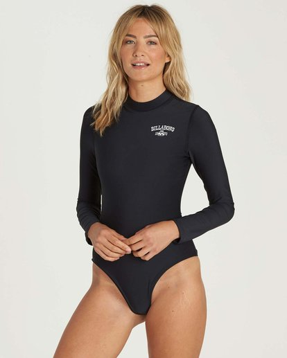 1 Mock Neck Bodysuit Rashguard  JR89NBBS Billabong