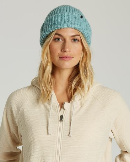 1 Women's Mountain Trip Beanie Blue JSBNQMOU Billabong