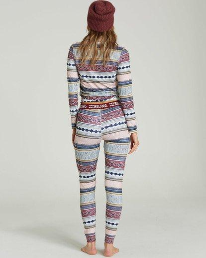 1 Women's Warm Up Tech Under Layer Pants Green JSN3QWUB Billabong