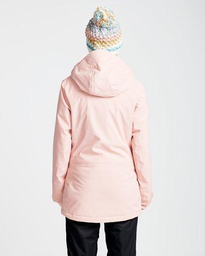 3 Women's Dalia Snow Jacket Pink JSNJQDAL Billabong