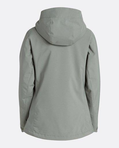 1 Women's Elodie Outerwear Jacket Green JSNJQELO Billabong