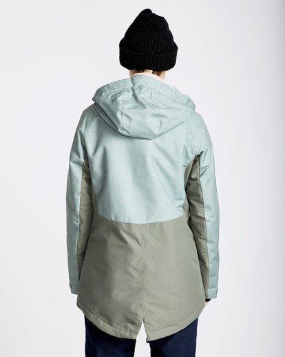 4 Women's Kayla Outerwear Jacket Green JSNJQKAY Billabong