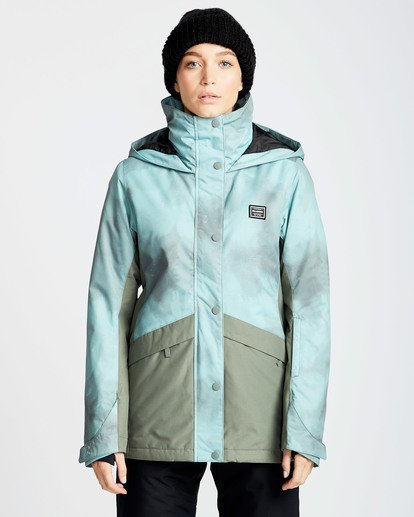 0 Women's Kayla Outerwear Jacket Green JSNJQKAY Billabong