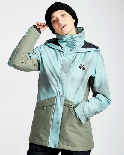 2 Women's Kayla Outerwear Jacket Green JSNJQKAY Billabong