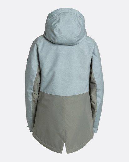 3 Women's Sienna Outerwear Jacket Green JSNJQSIE Billabong