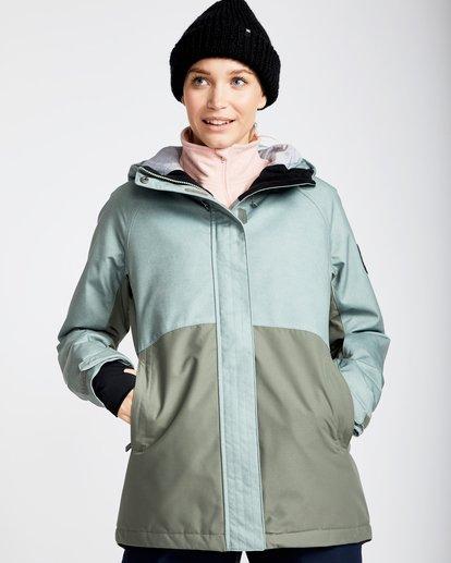 0 Women's Sienna Outerwear Jacket Green JSNJQSIE Billabong