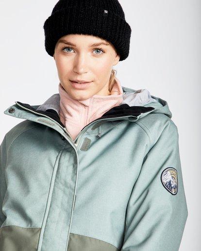 1 Women's Sienna Outerwear Jacket Green JSNJQSIE Billabong
