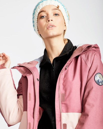 2 Women's Sienna Outerwear Jacket Red JSNJQSIE Billabong