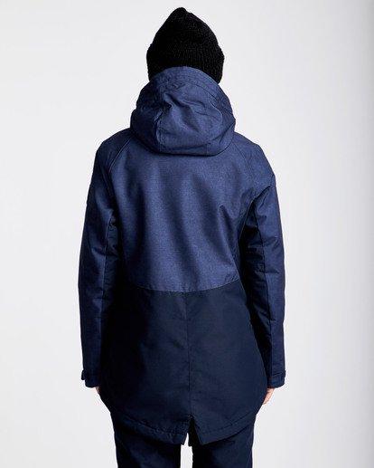 3 Women's Sienna Outerwear Jacket Blue JSNJQSIE Billabong