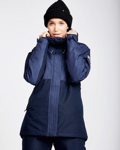 0 Women's Sienna Outerwear Jacket Blue JSNJQSIE Billabong