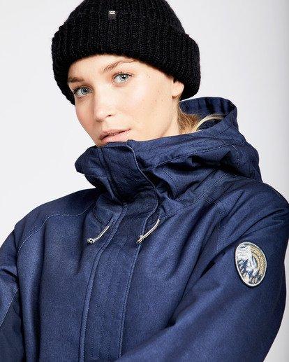 1 Women's Sienna Outerwear Jacket Blue JSNJQSIE Billabong