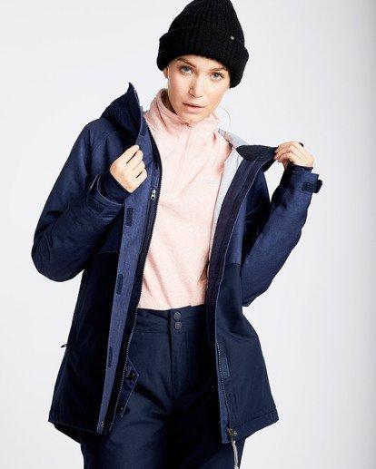 2 Women's Sienna Outerwear Jacket Blue JSNJQSIE Billabong