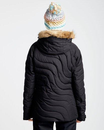 3 Women's Soffya Outerwear Jacket Black JSNJQSOF Billabong