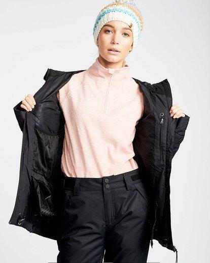 1 Women's Soffya Outerwear Jacket Black JSNJQSOF Billabong