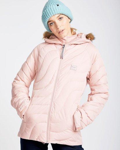 0 Women's Soffya Outerwear Jacket Pink JSNJQSOF Billabong