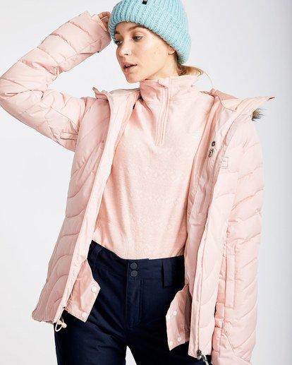 1 Women's Soffya Outerwear Jacket Pink JSNJQSOF Billabong