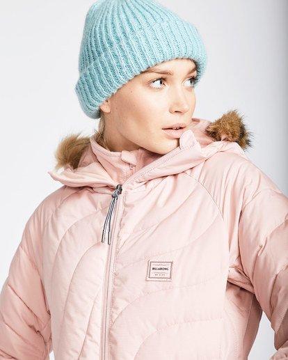2 Women's Soffya Outerwear Jacket Pink JSNJQSOF Billabong