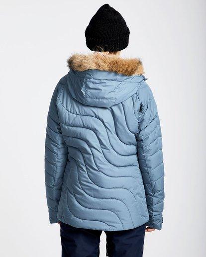 3 Women's Soffya Outerwear Jacket Brown JSNJQSOF Billabong