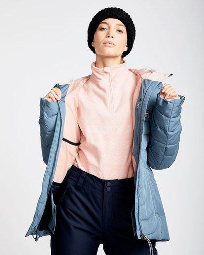 1 Women's Soffya Outerwear Jacket Brown JSNJQSOF Billabong