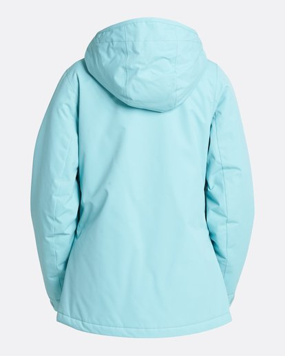 2 Women's Sula Solid Outerwear Jacket Blue JSNJQSUL Billabong