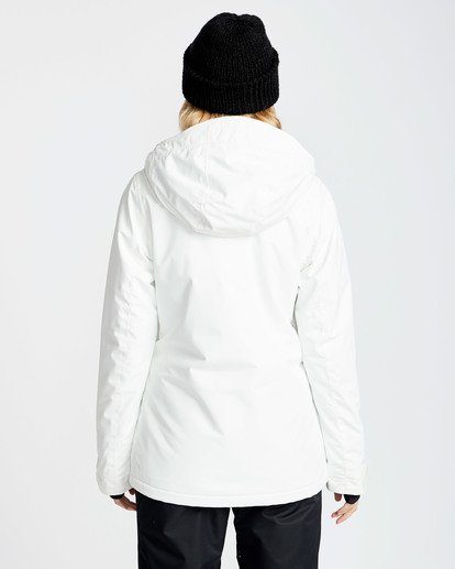 1 Women's Sula Solid Outerwear Jacket White JSNJQSUL Billabong