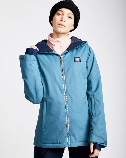 0 Women's Sula Solid Outerwear Jacket Brown JSNJQSUL Billabong