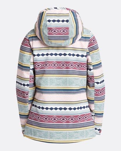 9 Women's Sula Print Outerwear Jacket Green JSNJQSUP Billabong