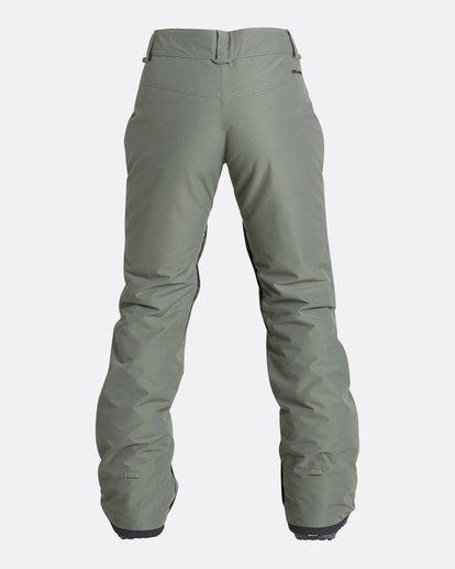6 Women's Malla Outerwear Pants Green JSNPQMAL Billabong