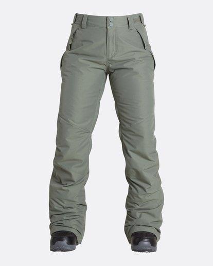 4 Women's Malla Outerwear Pants Green JSNPQMAL Billabong