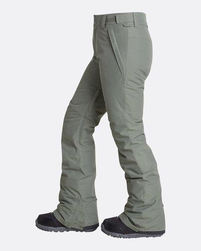 5 Women's Malla Outerwear Pants Green JSNPQMAL Billabong