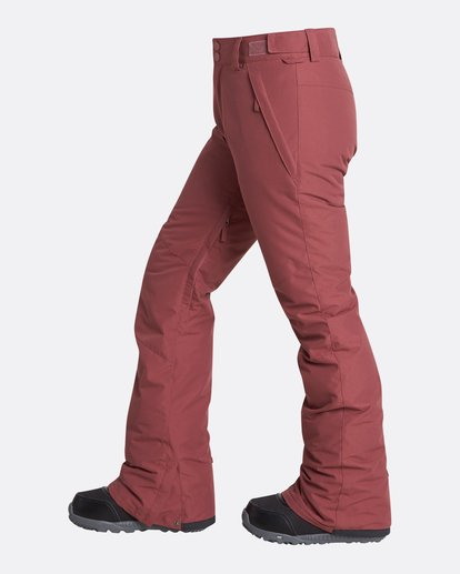 5 Women's Malla Outerwear Pants Red JSNPQMAL Billabong