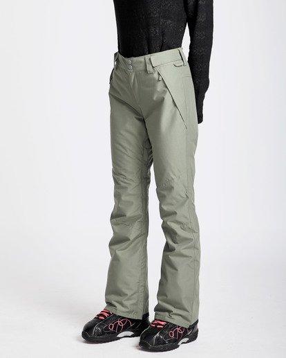 1 Women's Malla Outerwear Pants Green JSNPQMAL Billabong